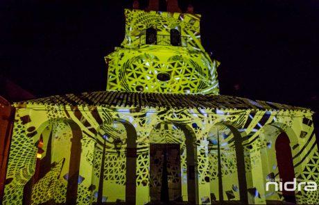 ArtSur 2019 Arte Contemporaneo en La Victoria Córdoba Video Mapping Visuales Nidra