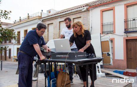 ArtSur 2019 Arte Contemporaneo en La Victoria Córdoba Video Mapping Visuales Nidra Soledad Bonnefont Ari Agliati