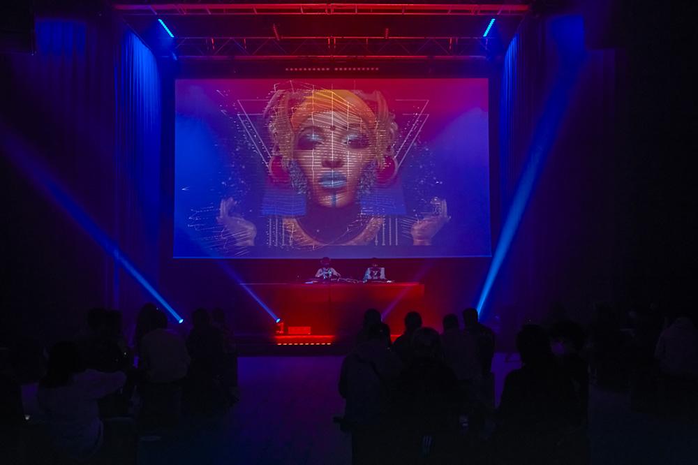 VJ Nidra She Makes Noise 2020 La Casa Encendida Madrid