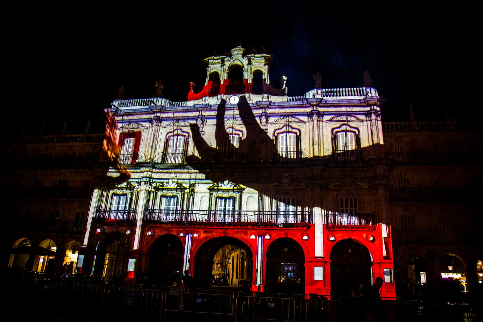 Video Mapping Festival de Luz y Vanguardia 2019 Salamanca, España