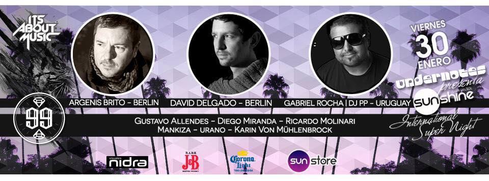 Its about music Sunshine Argenis Brito David Delgado Gabriel Rocha Chile Visuales Nidra