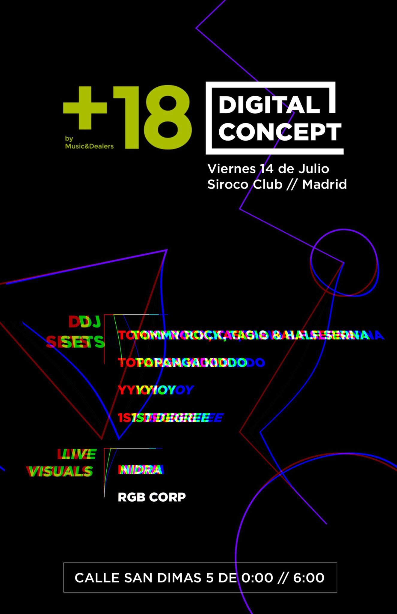 digital concept siroco club rgb corp madrid visuales nidra