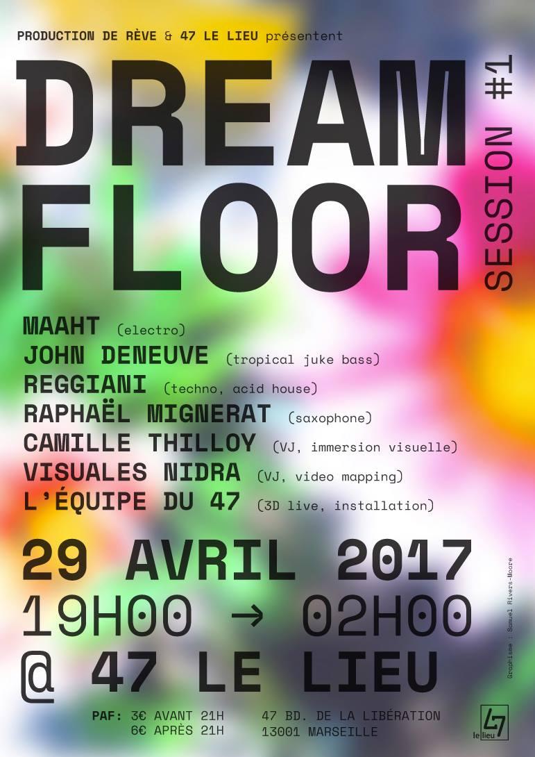 le lieu 47 dream-floor-marsella-2017-mapping-by-visuales-nidra